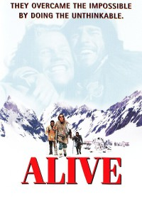 "Poster for the movie ""Alive"""