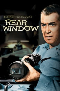 "Poster for the movie ""Rear Window"""