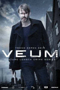 "Poster for the movie ""Varg Veum - Skriften på veggen"""