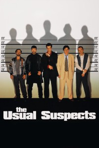 "Poster for the movie ""The Usual Suspects"""