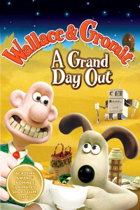 "Poster for the movie ""Wallace and Gromit: A Grand Day Out"""
