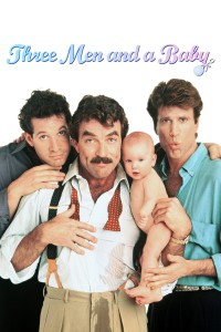 "Poster for the movie ""Three Men and a Baby"""