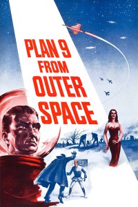 "Poster for the movie ""Plan 9 from Outer Space"""