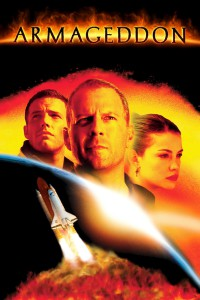 "Poster for the movie ""Armageddon"""