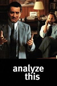 "Poster for the movie ""Analyze This"""