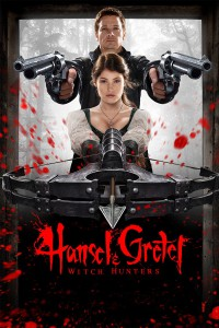 "Poster for the movie ""Hansel & Gretel: Witch Hunters"""