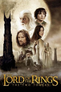 "Poster for the movie ""The Lord of the Rings: The Two Towers"""