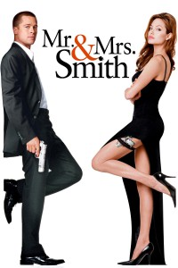 "Poster for the movie ""Mr. & Mrs. Smith"""
