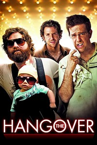 "Poster for the movie ""The Hangover"""