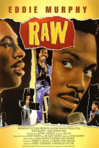 "Poster for the movie ""Eddie Murphy: Raw"""