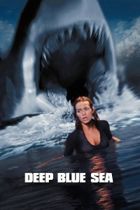 "Poster for the movie ""Deep Blue Sea"""