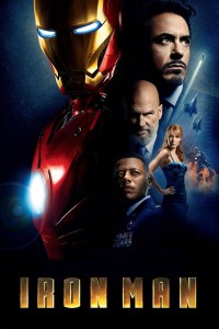 """Poster for the movie """"Iron Man"""""""
