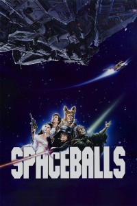 "Poster for the movie ""Spaceballs"""