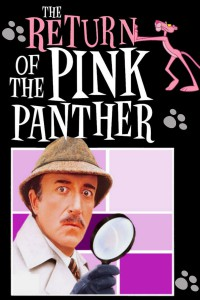 "Poster for the movie ""The Return of the Pink Panther"""
