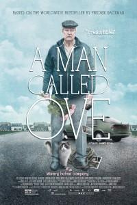 "Poster for the movie ""A Man Called Ove"""