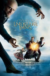 "Poster for the movie ""Lemony Snicket's A Series of Unfortunate Events"""