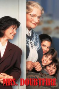 "Poster for the movie ""Mrs. Doubtfire"""