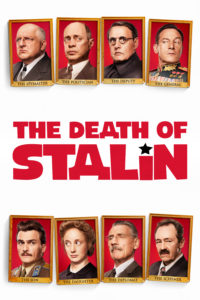 "Poster for the movie ""The Death of Stalin"""