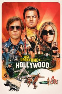 """Poster for the movie """"Once Upon a Time in Hollywood"""""""