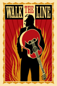 "Poster for the movie ""Walk the Line"""