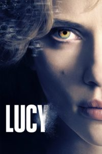 """Poster for the movie """"Lucy"""""""