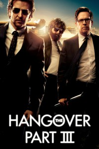 "Poster for the movie ""The Hangover Part III"""