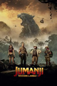 """Poster for the movie """"Jumanji: Welcome to the Jungle"""""""