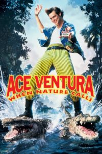 """Poster for the movie """"Ace Ventura: When Nature Calls"""""""
